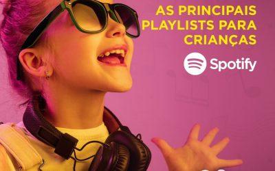 Playlists para crianças no Spotify